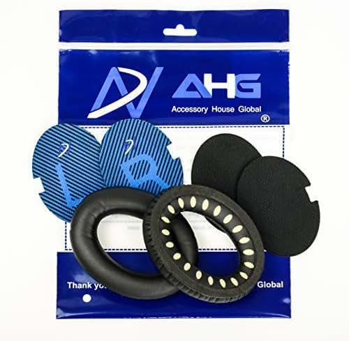 Replacement Ear Cushions for Bose QuietComfort 2 (QC2) and QuietComfort 15 (QC15) Headphones