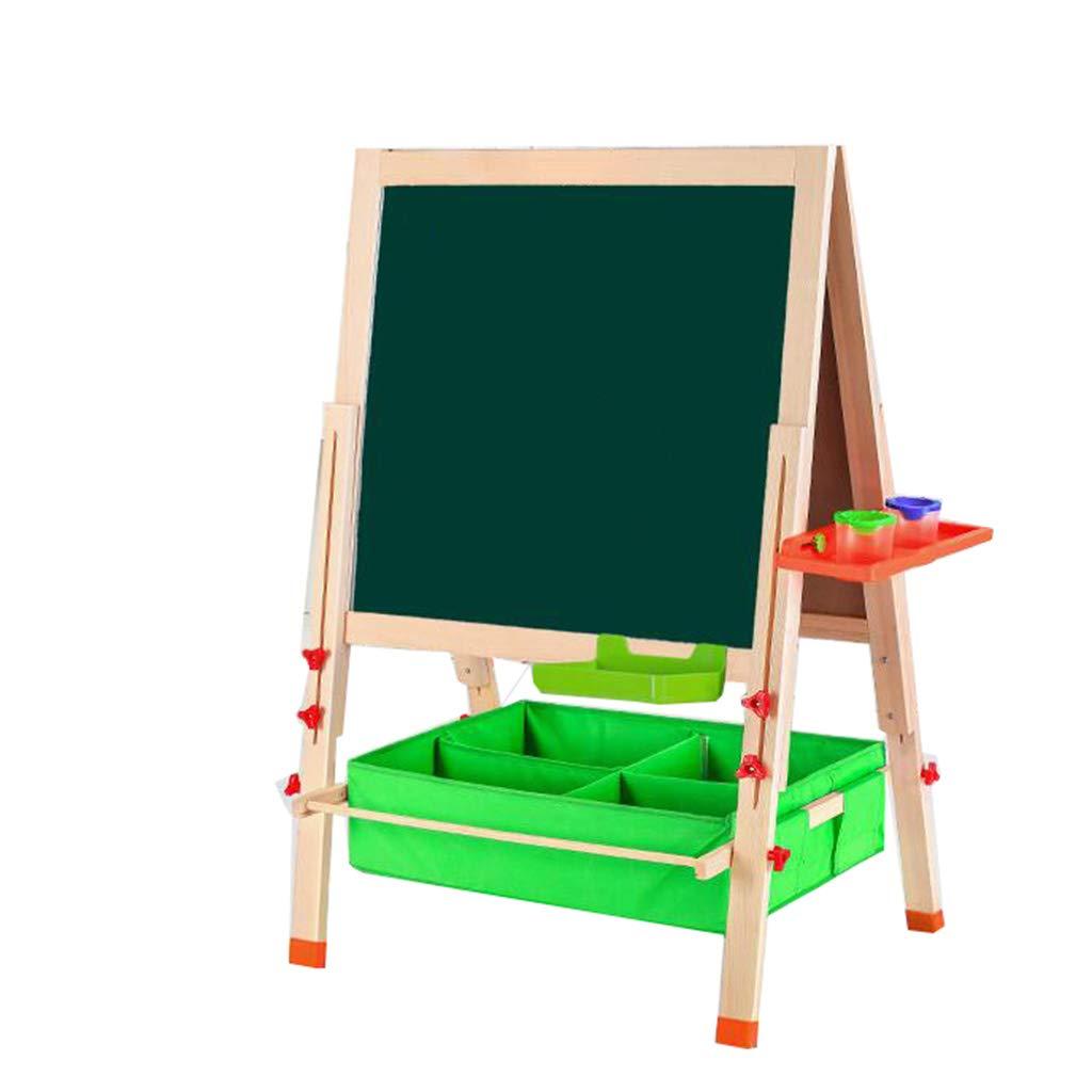 D_HOME Grande Tavolo da Disegno per Bambini per Bambini da casa bifacciale Tipo Lavagna Piccola Lavagna per Bambini Pieghevole Fiore Magnetico Stand (146  80  66  66  59  59cm)