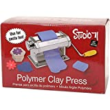 Darice Studio 71 Machine Craft Variety of Projects, 7 Thickness Options, Table Clamp Included, Polymer Clay Press to Flatten and Smooth, Original Version