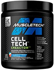 Creatine Powder, MuscleTech Cell-Tech Creactor Creatine HCl, Post Workout Muscle Builder for Men and Women, Creatine HCl plus Free-Acid Creatine, Creatine Supplements, Icy Rocket Freeze (120 Servings)