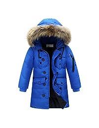 ZAMME Boys Kids Winter Down Coat Puffer Jacket Windbreaker Outwear