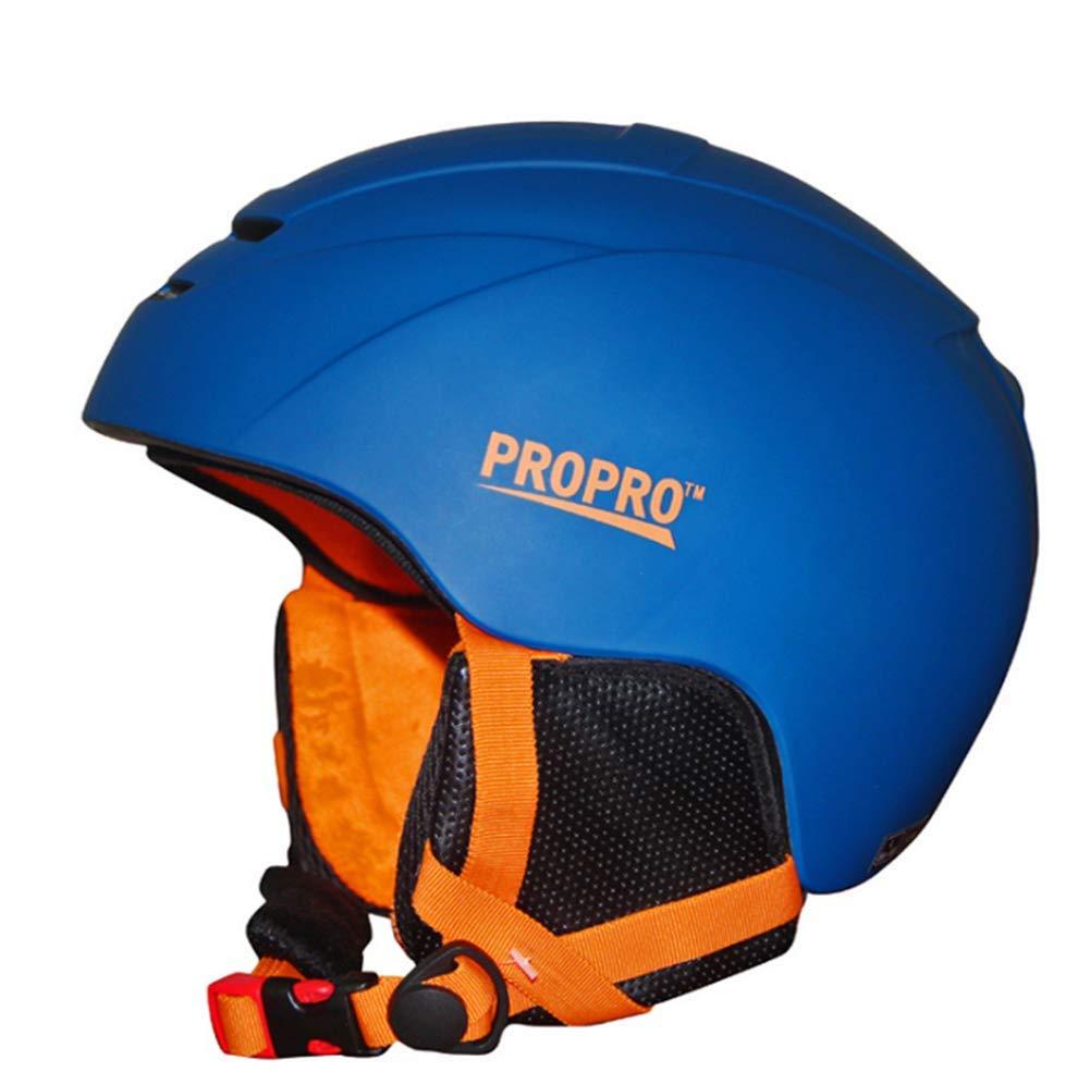 1-1 Professionel Ski Helm ABS Integriertes Formteil Einstellbar Herausnehmbares Futter Warm Schlittschuh Skateboard Outdoor-Sportarten Schutzausrüstung