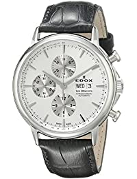 Men's 01120 3 AIN Les Bemonts Analog Display Swiss Automatic Black Watch