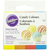 Wilton Colour Kit 1-Ounce Candy 4 Colour, Primary