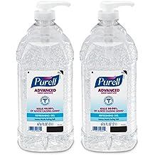 Purell 9625-02-ECIN Advanced Instant Hand Sanitizer, 2 L Pump Bottle, Original (Multipack)
