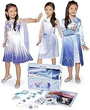Disney Frozen 2 Elsa's Journey Dress Up Trunk Deluxe 17-Piece [Amazon Exclus