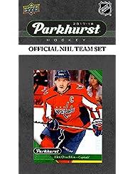 Washington Capitals 2017 2018 Upper Deck PARKHURST Series Factory Sealed Team Set including Alexander Ovechkin, Nicklas Backstrom, Riley Barber Rookie Card Plus