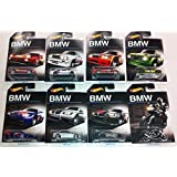 Complete Set of 8 Hot Wheels 2016 BMW Series: 1-8 BMW M1, 2-8 - '92 BMW M3, 3-8 - BMW E36 M3 RACE, 4-8 - BMW 2002, 5-8 - BMW M3 GT2, 6-8 - '10 BMW M3, 7-8 - BMW Z4 M, 8-8 - BMW K1300 R by California