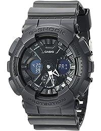 Casio Men's 'G-SHOCK' Quartz Resin Casual Watch, Color Black (Model: GA-120BB-1ACR)