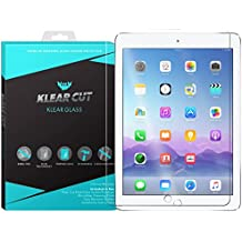 "Klear Cut KlearGlass - 9H Hardness Tempered Glass Screen Protector for Apple iPad Pro 12.9"" with Lifetime Replacements / 99.9% HD Clear / Shatterproof and Anti-Bubble Ballistic Glass"