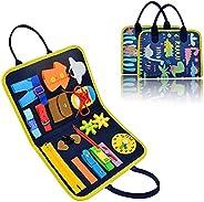 Busy Board, Montessori Toys Sensory Activity Developing Board for Fine Motor Skills, Sensory Toys Learning Boa