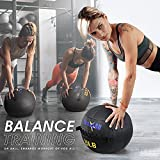 Yes4All 6 lb Wall Ball - Soft Medicine Ball/Wall