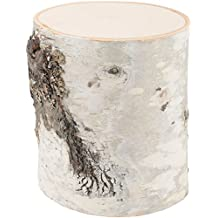 Wilson Evergreens 10000814 Birch Wood Pillar 5in