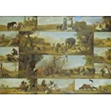 Oil Painting 'Punishment Of A Hunter,1647 By Paulus Potter' Printing On High Quality Polyster Canvas , 8x11 Inch / 20x29 Cm ,the Best Bar Decoration And Home Artwork And Gifts Is This High Definition Art Decorative Prints On Canvas
