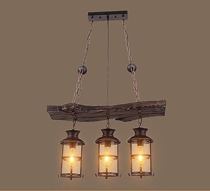 Lihuideng Chandelier/Rustico Retro Loft lampadario Creative ...