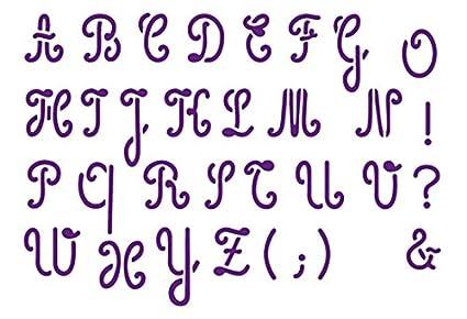 A Deux Mains Adm 120 84 Plantilla Letras Cursivas Mayusculas A6