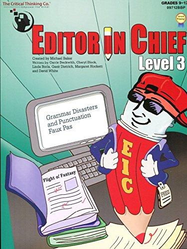 Editor In Chief® Level 3