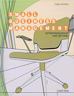 Small Business Management, Custom Publication