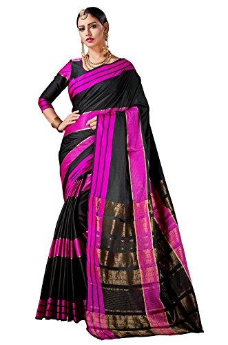 Ruchi Mart Indian Sari Bollywood Traditional Party Wear Cultural Black Saree Wedding