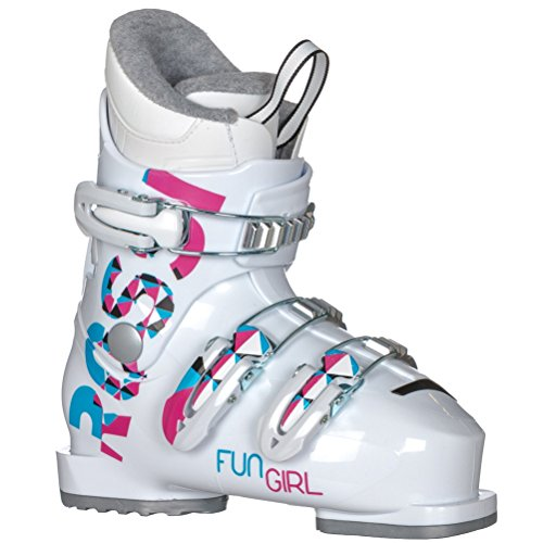 Rossignol Fun Girl J3 Ski Boots 2018 - Kid's White (Rossignol Kids Ski)