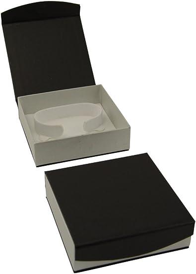 Magnético serie negro brazalete/reloj (C-clip) caja: Amazon.es: Joyería