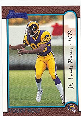 1999 Bowman Torry Holt Rookie Card