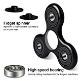 Tri-Spinner Fidget Toy ,Hand Spinner with High-speed and Stainless Bearing-Best Stress Reducer Relieves ADHD Anxiety and Boredom