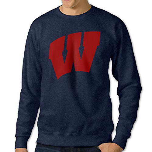ausin-mens-crewneck-hooded-sweatshirt-university-of-wisconsin-madison-navy-size-3x