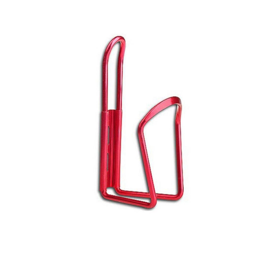 Witspace New Aluminum Alloy Bike Bicycle Cycling Drink Water Bottle Rack Holder Cage (Red)