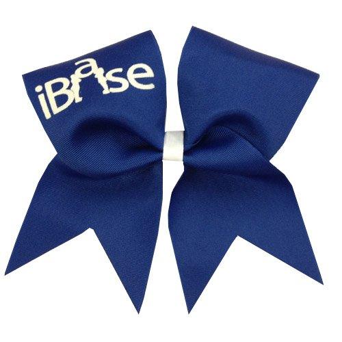 Chosen Bows New iBase Cheer Bow, Royal Blue by Chosen Bows