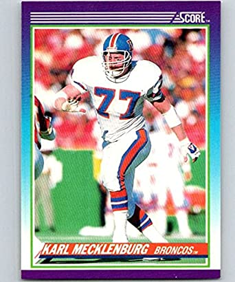 Amazon.com  1990 Score  115 Karl Mecklenburg Broncos NFL Football ... 152307e9b
