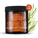 John Masters Organics - Shine On Leave-in Hair Treatment - Styling Product & Treatment for Fine to Normal Hair Men & Women - Strengthen Hair, Add Shine & Volume - 4 oz
