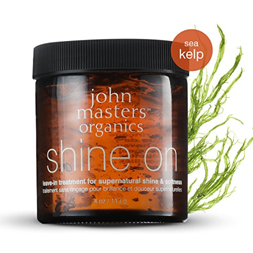 Master Mix Short (John Masters Organics - Shine On Leave-in Hair Treatment - Styling Product & Treatment for Fine to Normal Hair Men & Women - Strengthen Hair, Add Shine & Volume - 4 oz)
