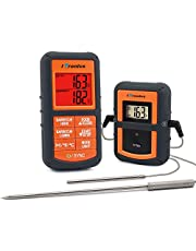 iTronics TP08 Wireless Remote Digital Cooking Meat Thermometer Dual Probe for Grilling Smoker BBQ Food Thermometer - Monitors Food from 300 Feet Away