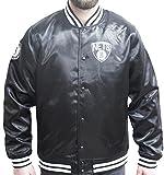 New Era Brooklyn Nets NBA Tip Off Sateen Bomber College Jacket Jacke