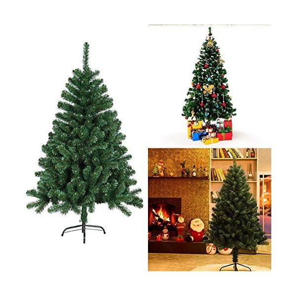 Mctech, albero di Natale artificiale, colore: verde, PVC, 180 cm 5 spesavip