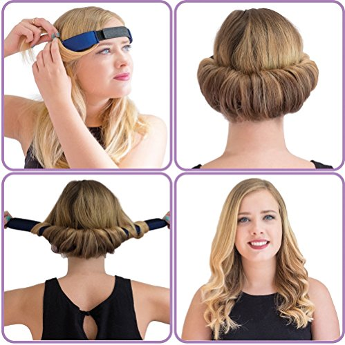 Amazon.com   GlamWaves Large Roller Head Band for Medium to Long Length  Hair   Beauty 6b2f67872da