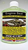 STEEL SEAL HEAD GASKET REPAIRS,,MCP,,WRAPPED BLOWN HEAD GASKETS & ENGINE BLOCKS,,,DIESEL & PETROL,,,Engine Seal, fixes most leaks in all types of water cooled engine including cracked heads, head gasket failures, cracked blocks, radiators, heater cores and water pumps. A repair made with MCP is permanent, guaranteed for the lifetime of the engine. Unlike inferior coolant products, Steel Seal Head Gas mixes with all types of antifreeze and coolant.