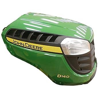 Amazon.com: John Deere D140 Complete Hood -700,000 embled ... on