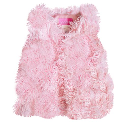 Good Lad 2/6X Faux Fur Vest (4, Pink)