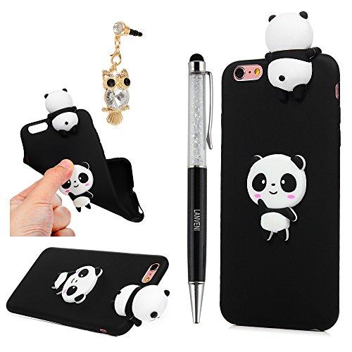 YOKIRIN iPhone 6 Case, iPhone 6S Case, 3D Handmade Cute Black ...