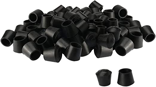 New uxcell 40pcs Chair Leg Tips Caps 16mm 5//8 Inch Anti Slip Rubber Furniture..
