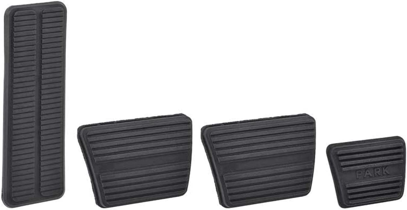 OER Complete Pedal Pad Kit 1967-68 Firebird//Camaro and 1968-77 Chevelle//Monte Carlo//Malibu with Manual Transmission