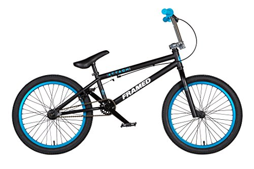 Framed Attack LTD BMX Bike Black/Blue/Chrome Sz 20in