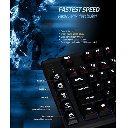 Zalman ZM-K700M Mechanical Cherry MX Red Gaming LED Keyboard