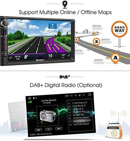 Pumpkin 2 DIN Android Autoradio Universal con 2GB Ram soporta GPS ...