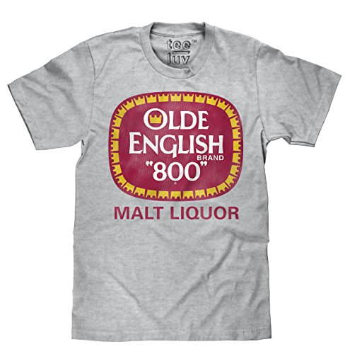 Tee Luv Olde English 800 T-Shirt - Olde English Malt Liquor Beer Shirt (XX-Large) - Malt Liquor Beer