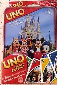 UNO Disney Theme Park Edition