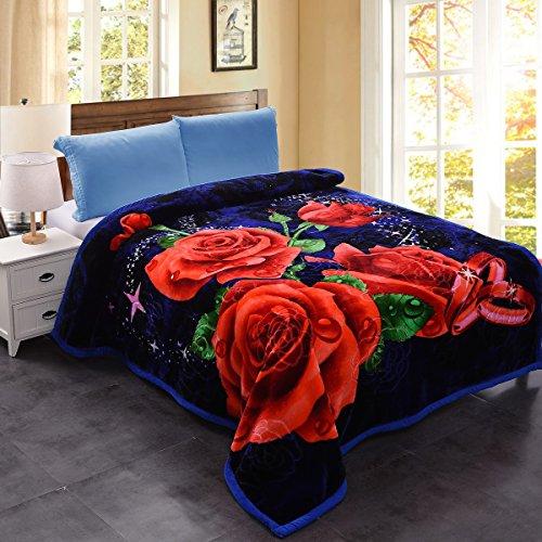Silky Blanket Fleece (JML Heavy Warm Blanket, Plush Blankets King Size 85