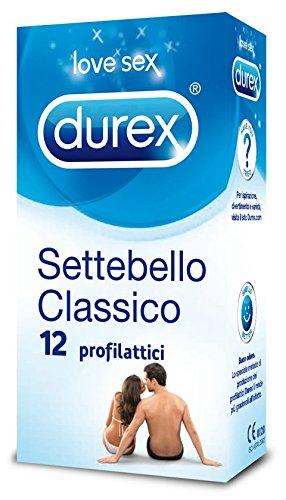 30 opinioni per Durex Settebello Classico Preservativi, 12 Pezzi
